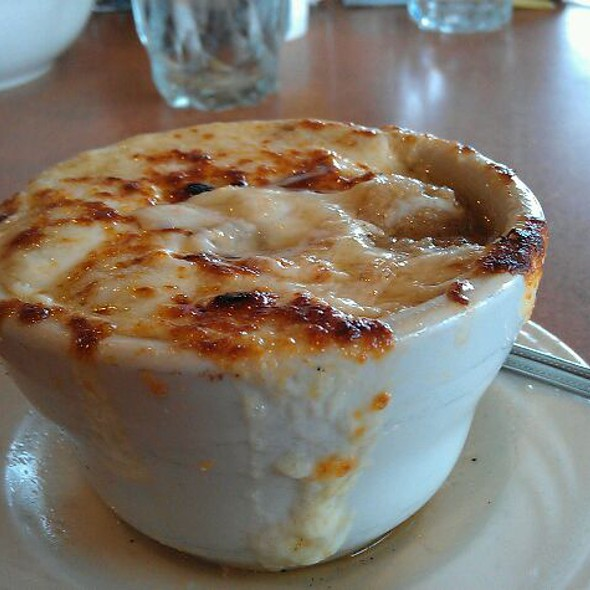 French Onion Soup @ Around the Clock Restaurant