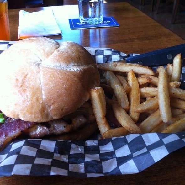 Bacon Turkey Cheeseburger @ Blazing Onion Burger Company
