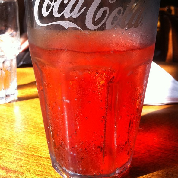 Sprite With Strawberry @ Blazing Onion Burger Company