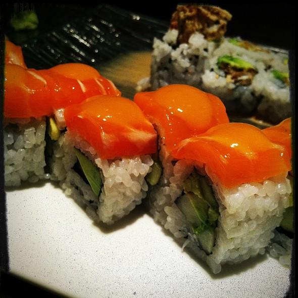 Mango Salmon Sushi Roll - Sushiko - Chevy Chase, Chevy Chase, MD