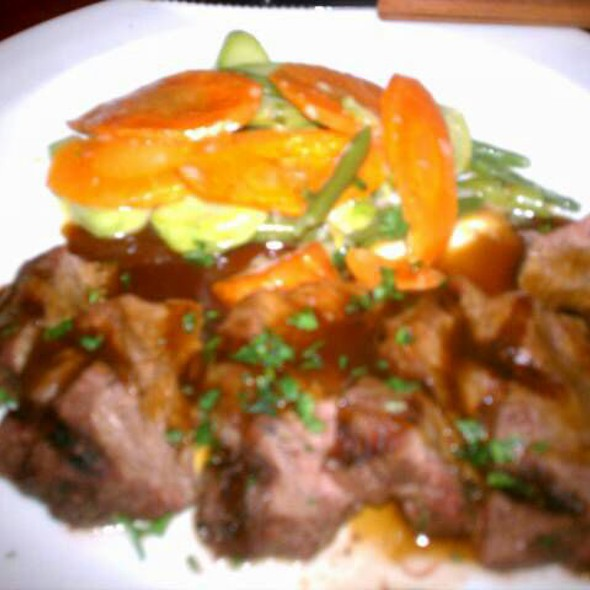 flat iron steak @ Cordial Theaterhotel Wien