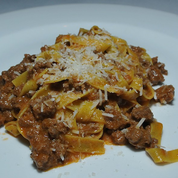 Mishima ranch wagyu bolognese tagliatelle @ Cafe Juanita