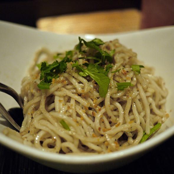 Wok Fired Garlic Noodles - Tamarine, Palo Alto, CA