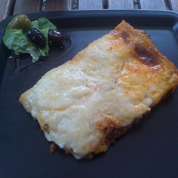 Meat Lasagna @ Feinkost De Pretis