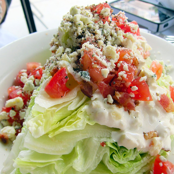 Wedge Salad @ Gibson's Steakhouse