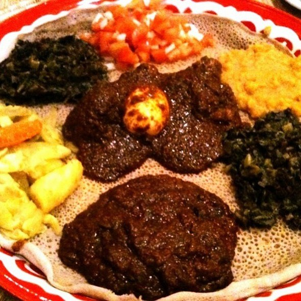Bayu 39 s authentic ethiopian cuisine menu san diego ca for Authentic ethiopian cuisine