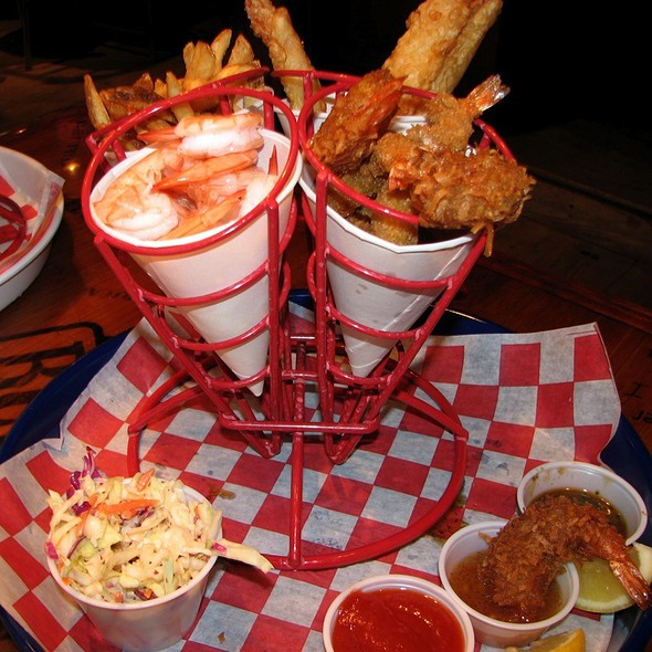 Run Across America Sampler @ Bubba Gump Shrimp Co
