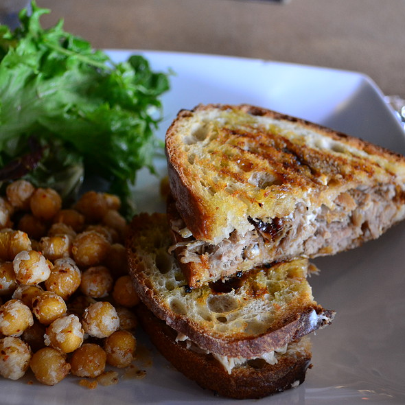 Pulled Pork Panini @ Secco Wine Bar
