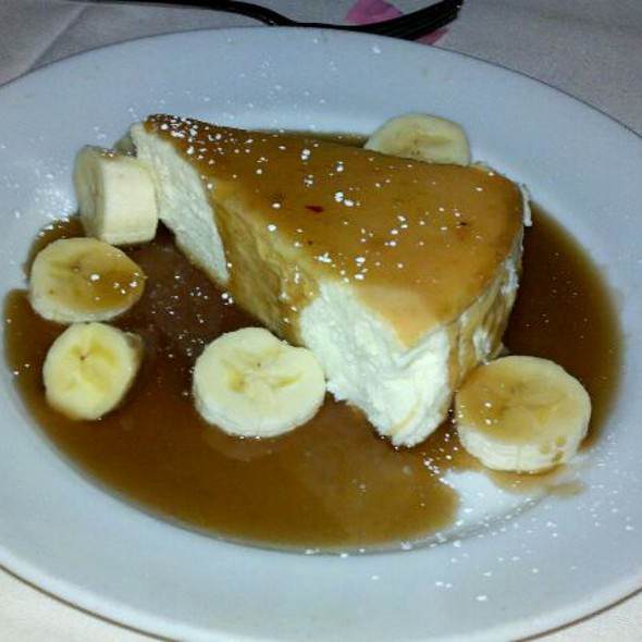 Banana foster cheesecake - Bungalow, Corona Del Mar, CA