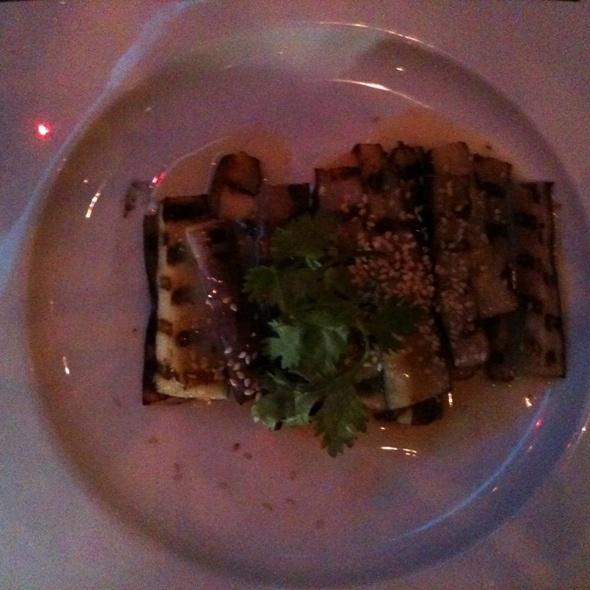 Grilled Eggplant @ Haiku Asian Bistro