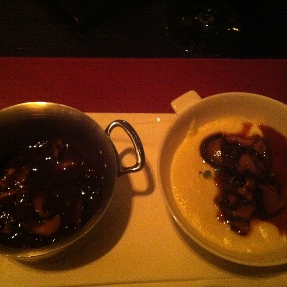 Creamy Polenta With Fricasse Of Truffled Mushrooms @ Scarpetta at The Cosmopolitan Las Vegas