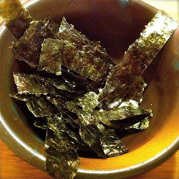 Dried Seaweed @ Ootoya (Suntec City Mall)