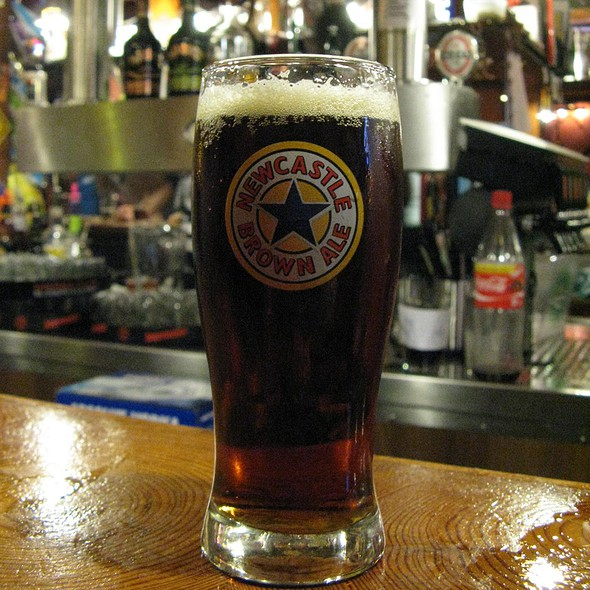 Newcastle Brown Ale @ Paddy's Pit