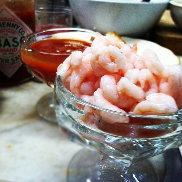Bay Shrimp Cocktail @ Swan Oyster Depot