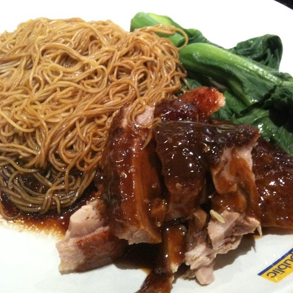 Roasted Duck Wantan Noodles
