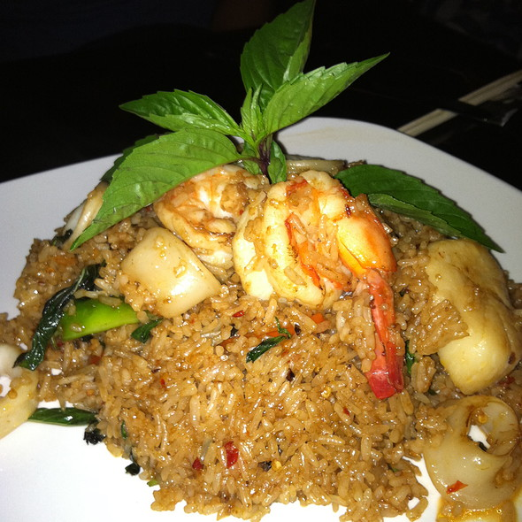 Thai Spicy Seafood Fried Rice - Asian Spice, Washington, DC