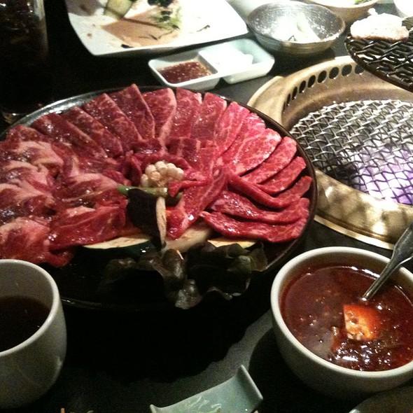 Japanese BBQ @ Manpuku Costa Mesa