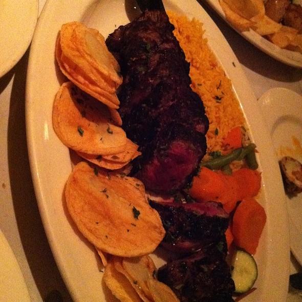 Sliced Beef Tenderloin @ Segovia Restaurant