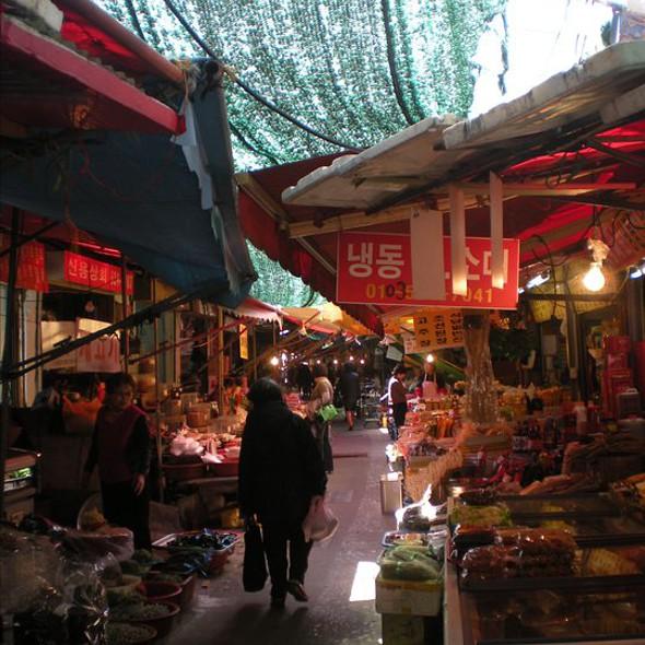 food stalls @ Busan
