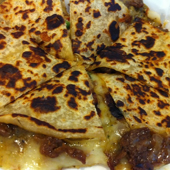 Beef Quesadillas @ The Rolling Hunger