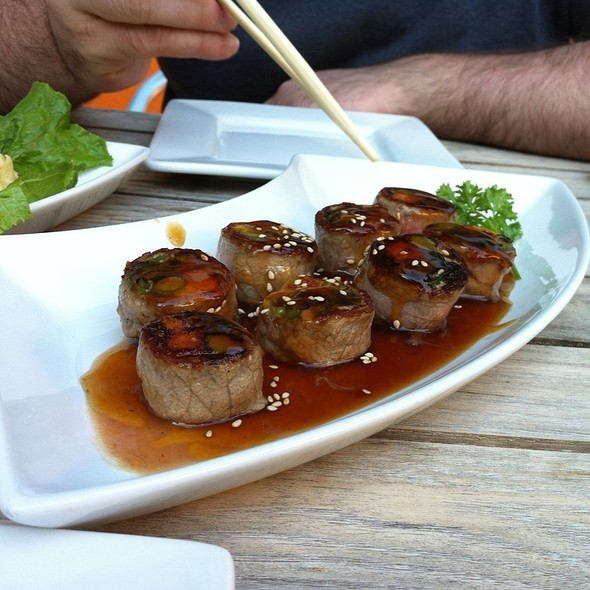 Beef Negimaki @ Shobu Sushi