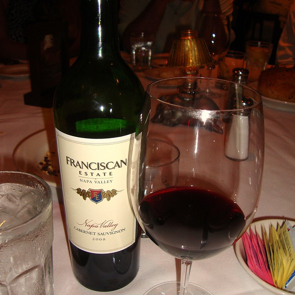Franciscan Estate Cabernet - Morton's The Steakhouse - Baltimore, Baltimore, MD