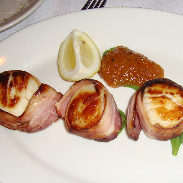 Bacon Wrapped Scallops - Morton's The Steakhouse - Baltimore, Baltimore, MD