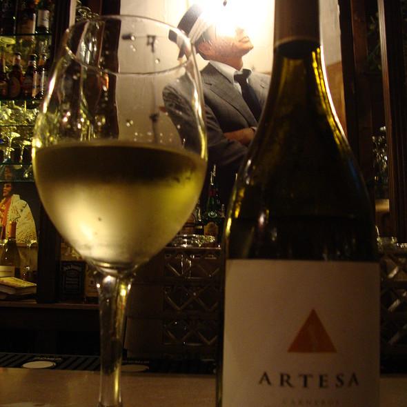 Artesa Chardonnay @ Supano's Steakhouse