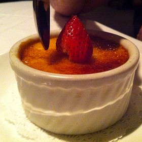 Creme Brulee - Splash Seafood Bar and Grill, Des Moines, IA