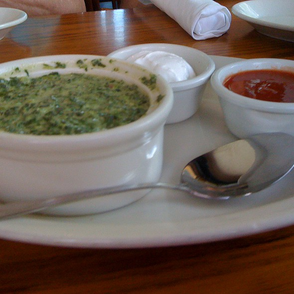 Spinach And Artichoke Dip @ Mango's Restaurant & Lounge
