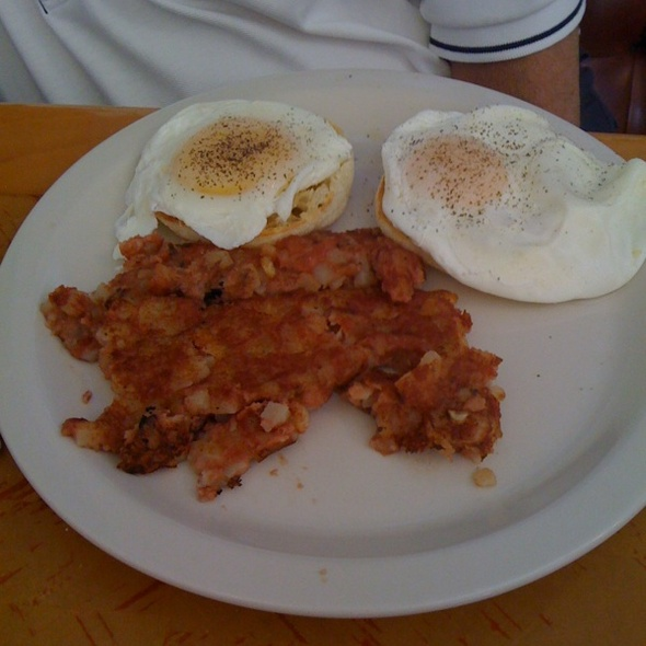 Corned Beef Hash And Poached Eggs @ Mike's Galley
