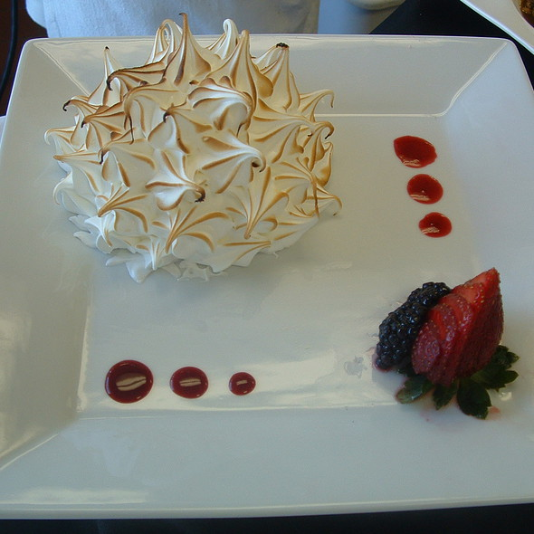 Strawberry Baked Alaska @ Sullivan University