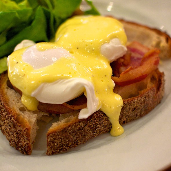 Eggs Benedict @ Paprika Restaurant
