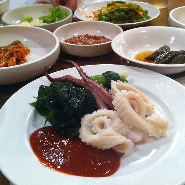 Octopus & Seaweed Starter