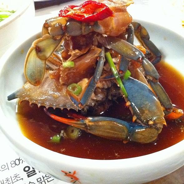 Gaejang (Marinated Raw Crab)