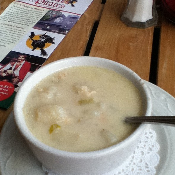 New England Clam Chowder - Capt's Waterfront Premium Steak & Seafood, Salem, MA