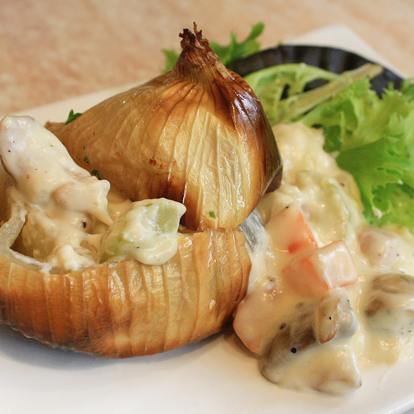 Stuffed Roasted Onion with C @ La Bodega, Bangsar