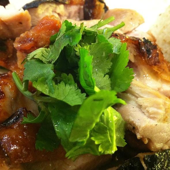 Bbq Chicken Rice @ Jalan Alor, Melbourne