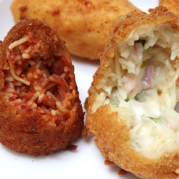 Fried snacks @ I Cuochini