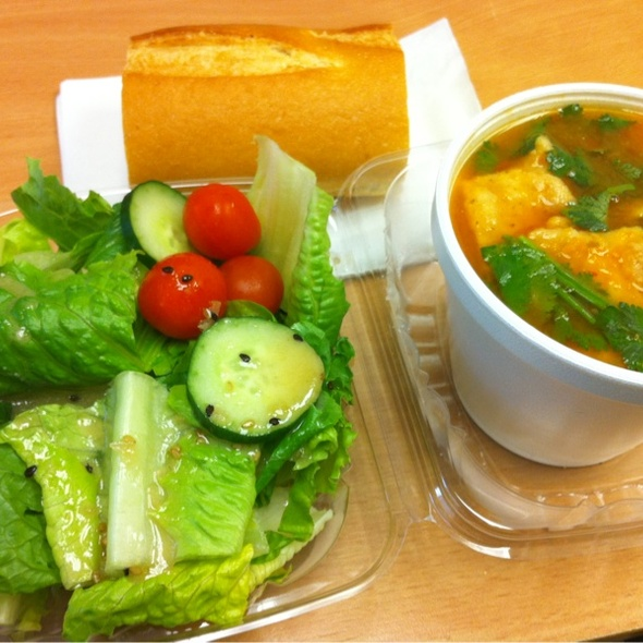 Tortilla Soup & Salad Combo @ San Francisco Salad Co.