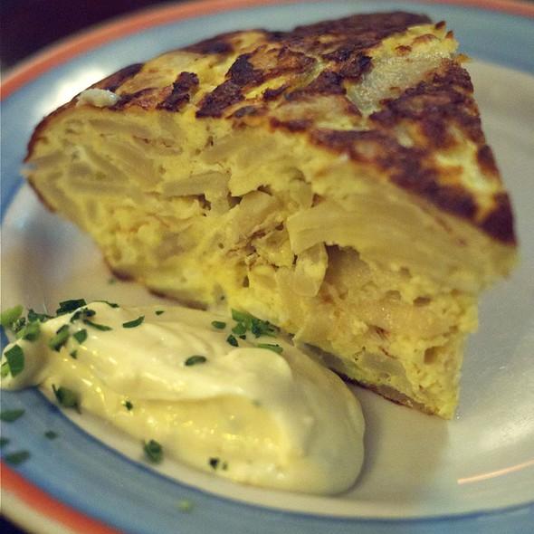 Tortilla Espanola @ Cafe Ba Ba Reeba