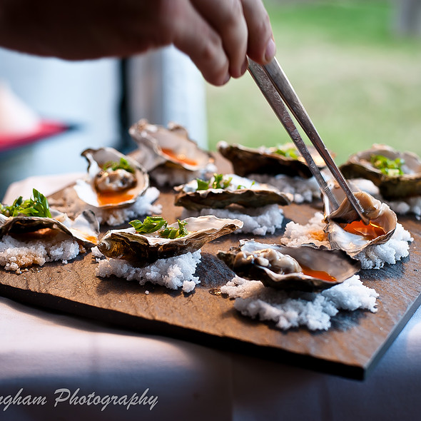 Oysters on the Half Shell @ Kupros Craft House