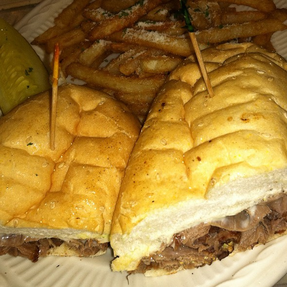 Philly Steak & Cheese Sandwich @ Military St