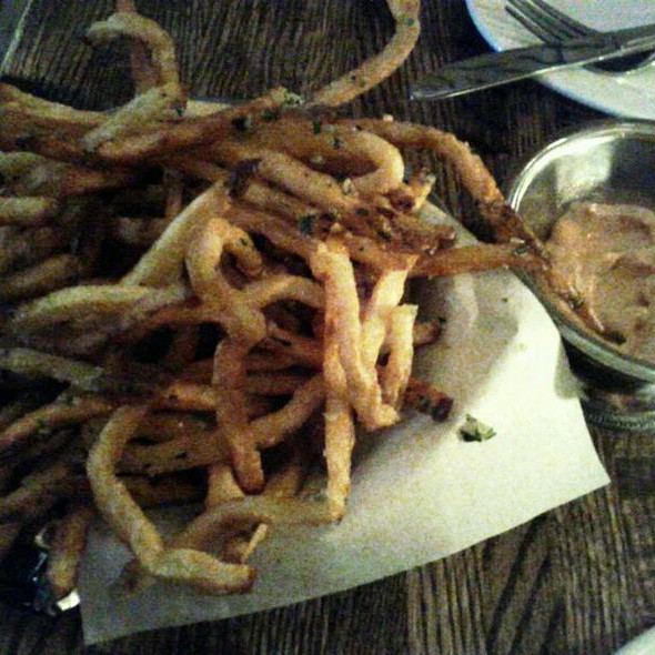 Garlic Fries @ Ruxbin Kitchen