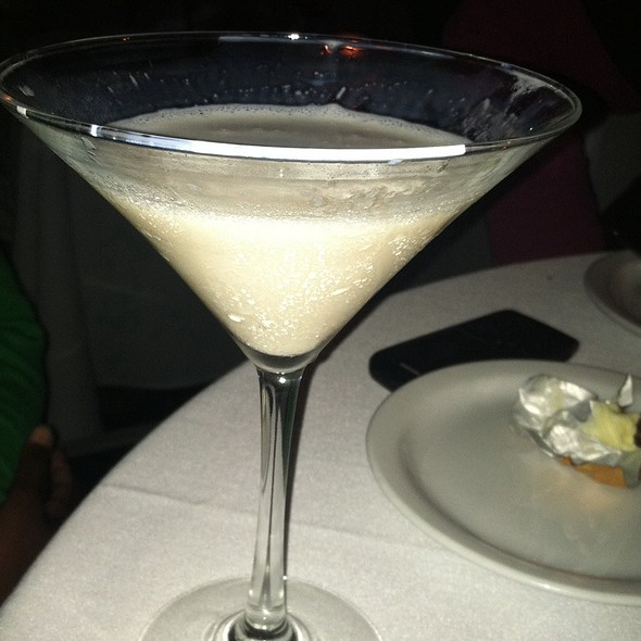 White Chocolate Raspberry Martini - Sur Restaurant, West Hollywood, CA
