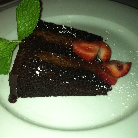 Chocolate Cake - Sur Restaurant, West Hollywood, CA