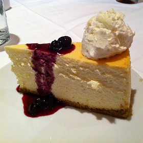 Cheese cake - Fleming's Steakhouse - Atlanta, Atlanta, GA