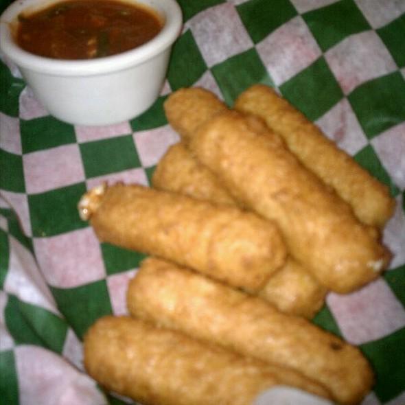 Fried Mozzarella Sticks @ Keys Cafe & Bakery