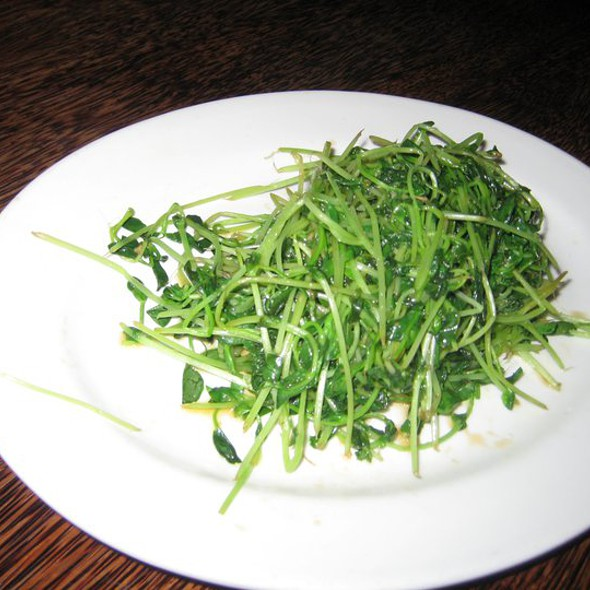 Pea Shoots Adobo @ Mercury Lounge
