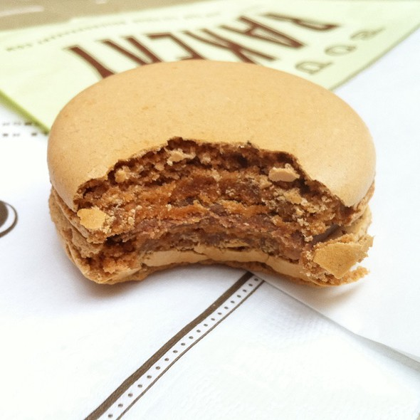Salted Caramel Macaron @ Bouchon Bakery